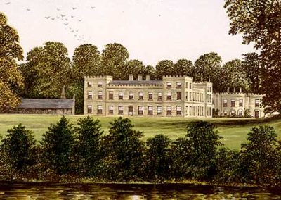 Victorian Illustration of Ugbrooke House